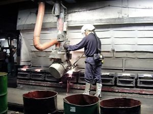 Molding and Pouring